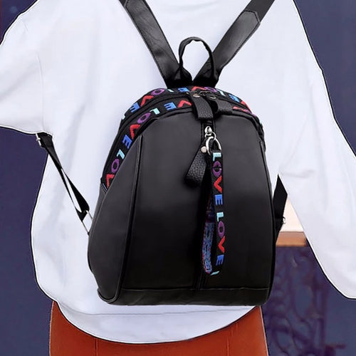 Detailed Love Backpack