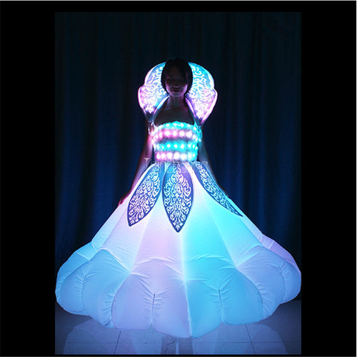 Inflatable LED Ball Gown