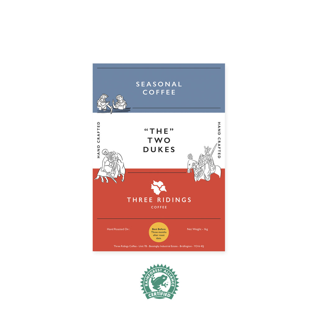The Two Dukes - Seasonal Coffee Beans Blend