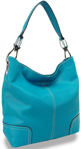 Ring Accented Large Hobo