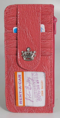 Croc Credit Card Sleeve w/Crown | AC/CN89