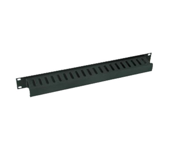 ORGANIZADOR DE CABLES NORTH SYSTEM VERTICAL SENCILLO PARA RACK DE 7 PIES/DUCTO 3X3/COLOR NEGRO LISO - ABD Systems