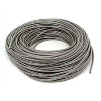 BOBINA CABLE UTP DE RED CAT6 INTELLINET CCA ROLLO 305 METROS SOLIDA COLOR GRIS