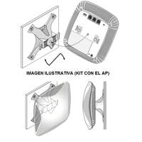 BASE KIT DE MONTAJE BLANCO PARA TECHO / PARED COMPATIBLE CON ARUBA AP INSTANT - ABD Systems