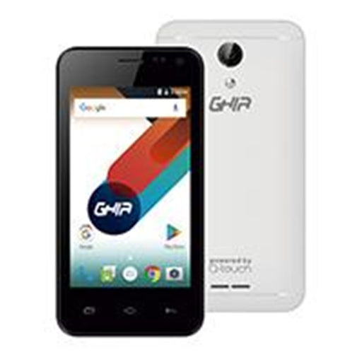 GHIA SMARTPHONE Q05A / 4.0 PULG / ANDROID 7 / QUAD CORE / DUALSIM / 1GB8GB / 2MP5MP / WIFI / BT / 3G / BLANCO