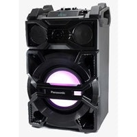 BOCINA PANASONIC CMAX5, 11,000W PMPO, 1000W RMS, ONE BOX ACTIVE SPEAKER, BLUETOOTH, MP3, 2 USB, ENTRADA 2 MICROFONOS, WOOFER 25CM, CONTROL REMOTO