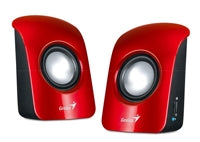 BOCINAS GENIUS SP-U115 1.5 WATTS USB ROJAS