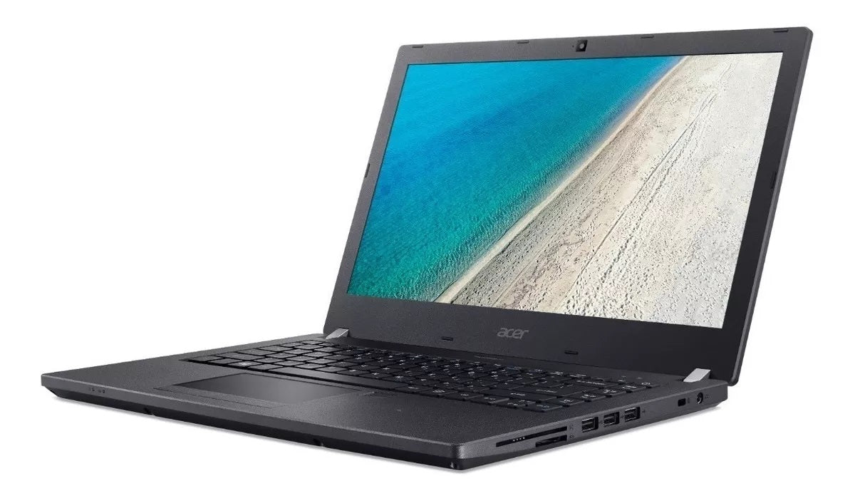 PORTATIL LAPTOP ACER TRAVELMATE P4 TMP449-G2-M-32M5 CORE I3 7100U DC 2.40GHZ/4GB MAX 20GB/1TB/14HD /WIN10PRO/NEGRO