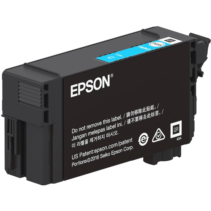 CARTUCHO EPSON MODELO T40V ULTRACHROME XD2 INK CYAN, PARA SERIE T (25 ML)