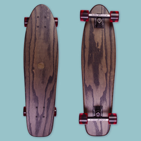 Cruiser Long - Black (Oak / Bennet Vector Trucks)