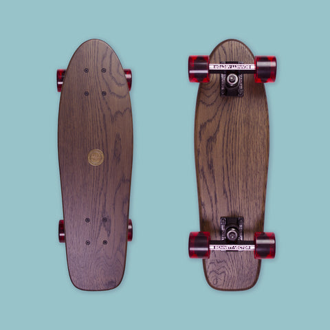 Cruiser Mini - Black (Oak / Bennett Vector trucks)