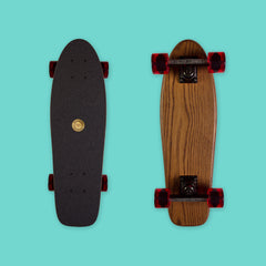 Cruiser Mini - Brown (Oak / Bennett Vector trucks)