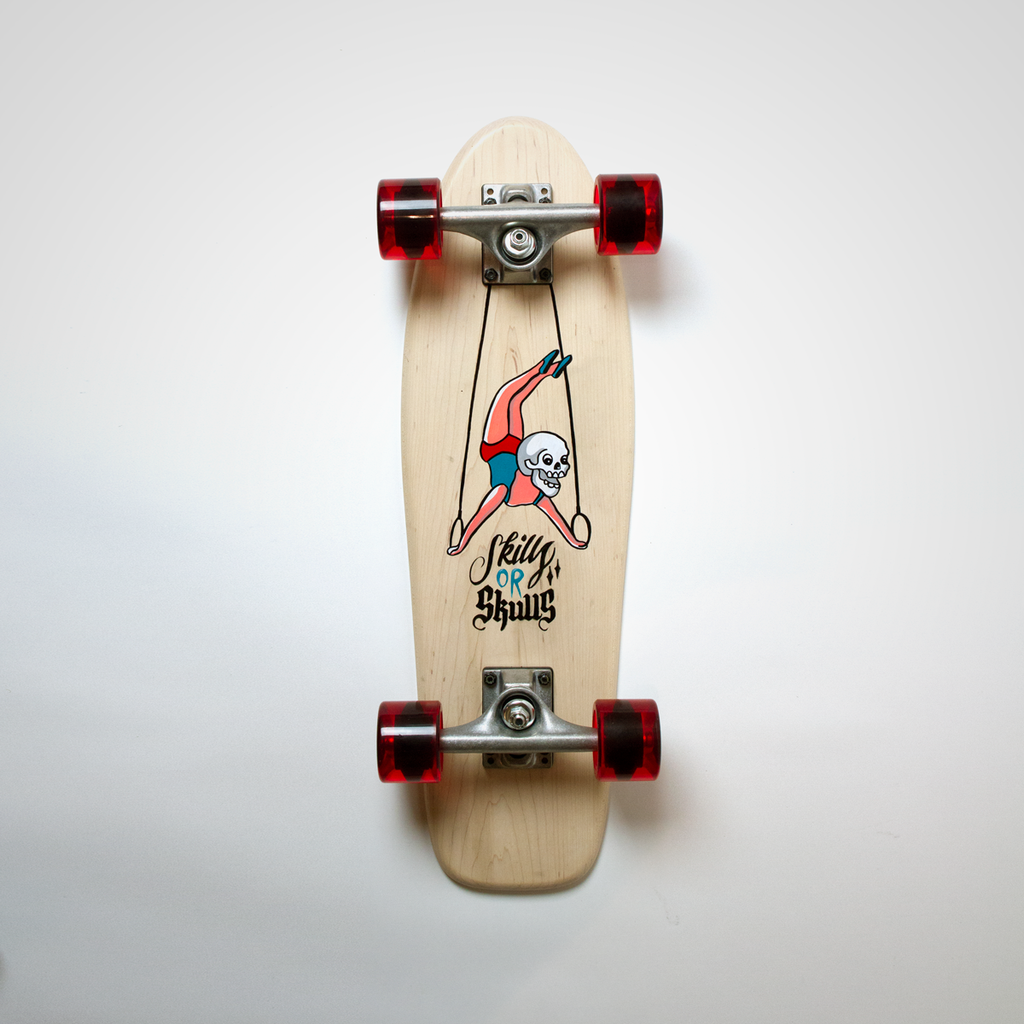 Cruiser Mini - White (Maple) - Cirque du Skulls
