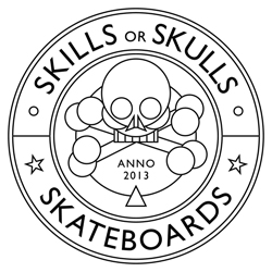 Skills or Skulls Skateboards