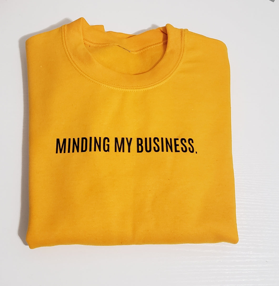 'Minding My Business' Sweater