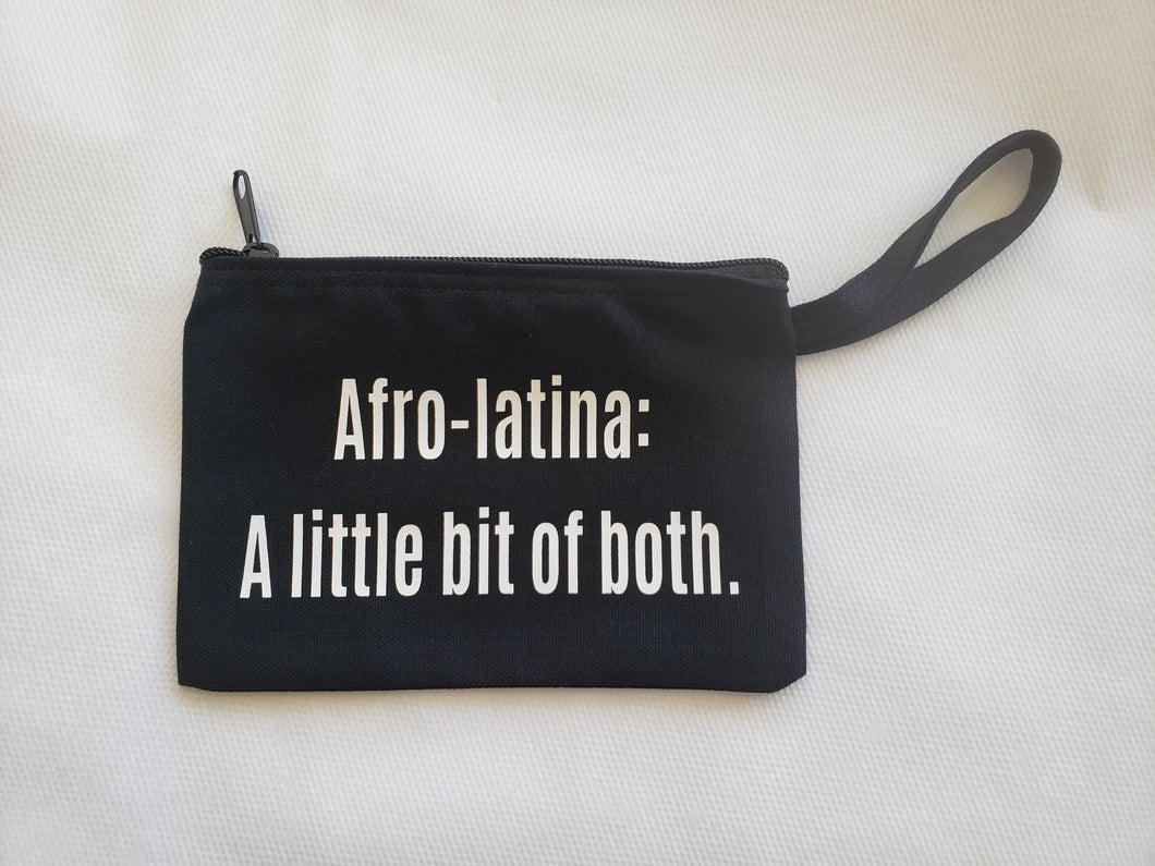 'Afro-Latina: A Little Bit of Both' Wristlet