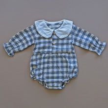 Load image into Gallery viewer, Aspen | Flannel Romper | Gray
