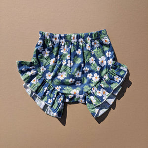 Brittany | Tropical Floral Shorts