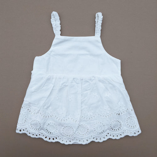 *0-6M ONLY LEFT* Caroline | Dress | White