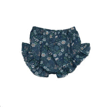 Load image into Gallery viewer, Brittany | Blue Floral Shorts