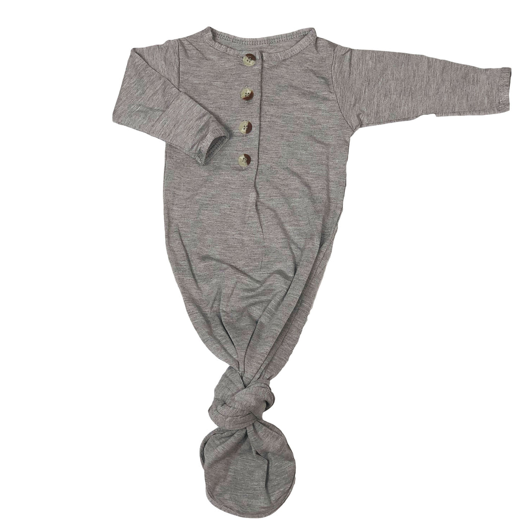 Kennedy | Sleep Gown | Light Gray