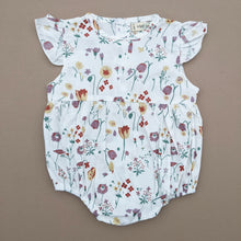 Load image into Gallery viewer, Layla | Short Sleeve Romper | Floral