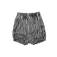 Load image into Gallery viewer, Evie | Black + White Stripe Shorts
