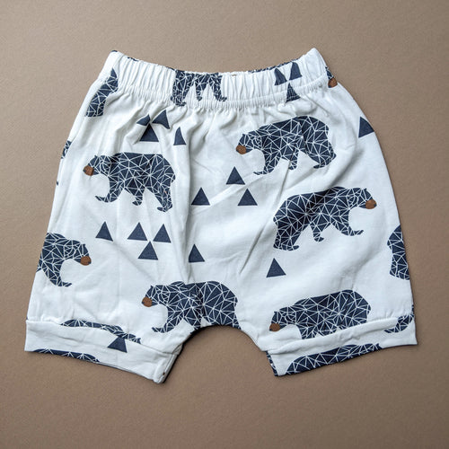 Liam | Pattern Shorts | Geometric Bears