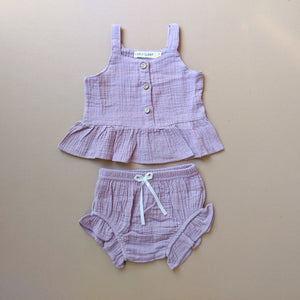 Emma | Two Piece Set | Purple