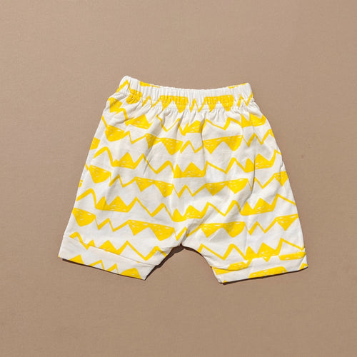 Liam | Pattern Shorts | Yellow Waves