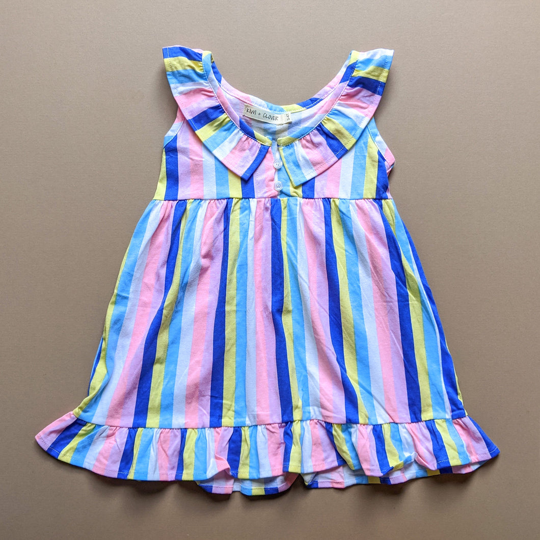 Abigail | Dress | Bright Stripes