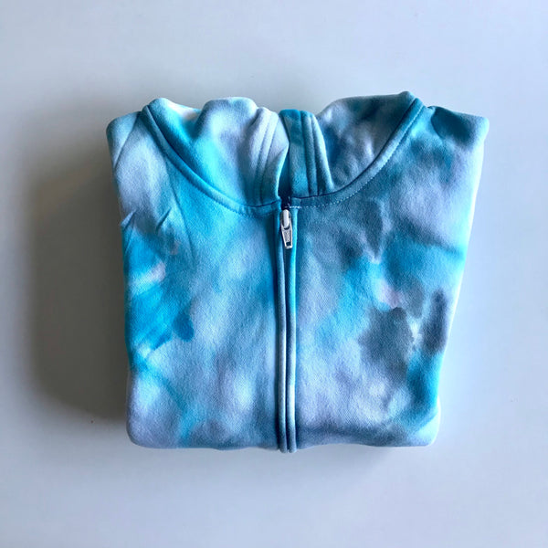 For the Cool Kid: Winter Blue Hoodie with Zipper