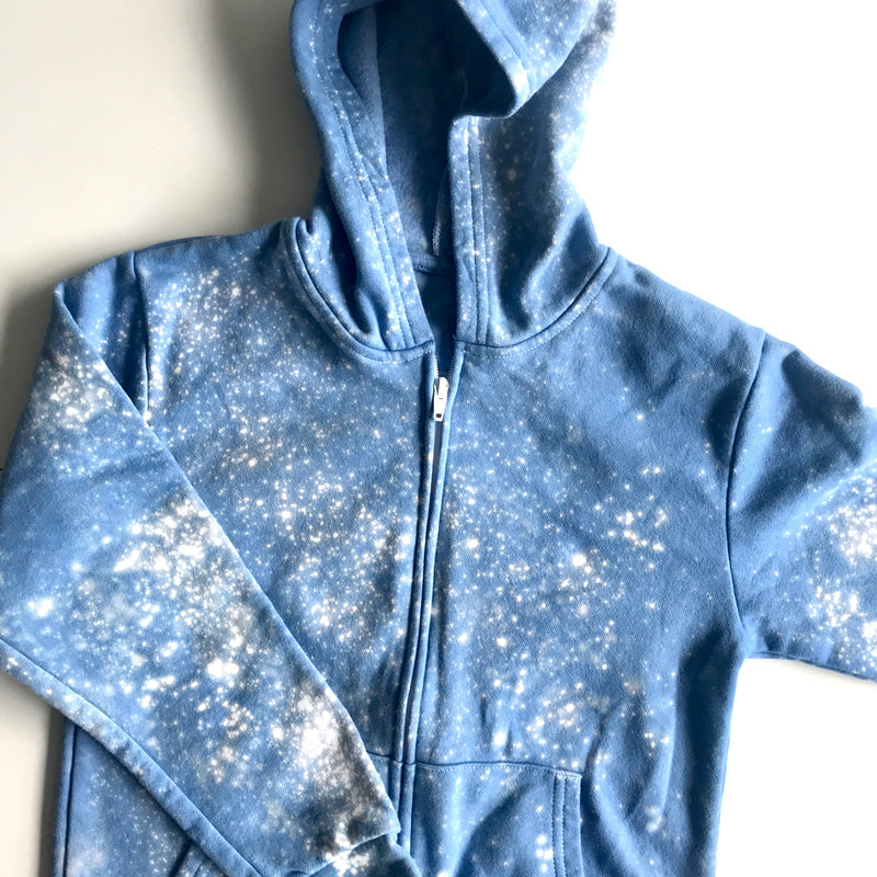 Greek Isles hoodie with zipper for kids