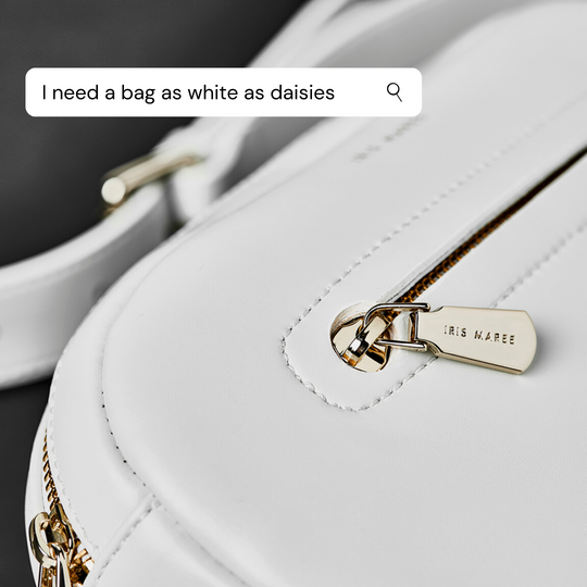 All about our Daisy White bags