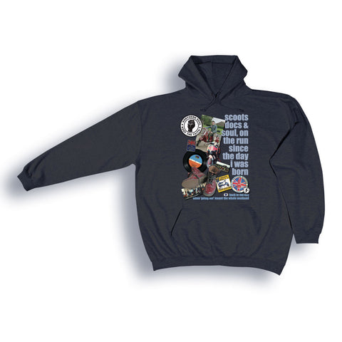 Northern Soul 'Scoots and Boots' Hoodie from the Identity Big Time Collection - Sizes from 2XL to 6XL