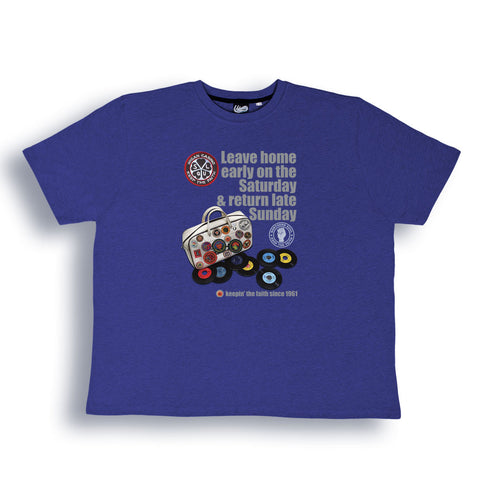 Wigan Casino 'DJ Bag' T Shirt from the Identity Big Time Collection - Sizes from 2XL to 6XL