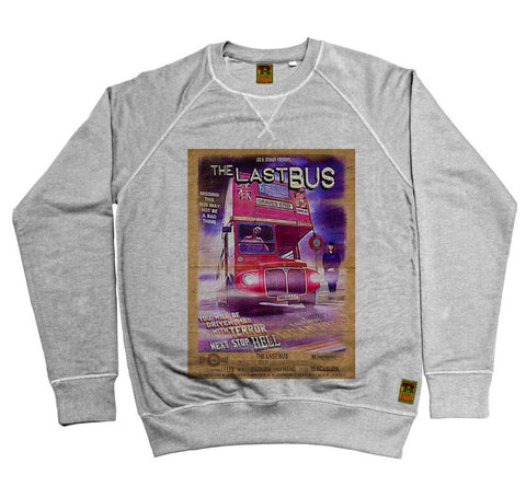 B-Movie 'Last Bus' Heather Grey Sweatshirt