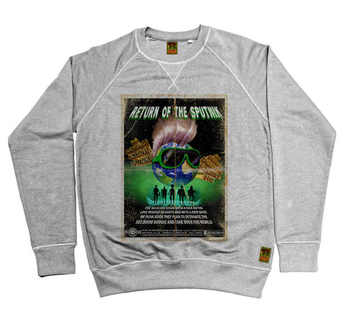 B-Movie 'Return Of The Sputnik' Heather Grey Sweatshirt