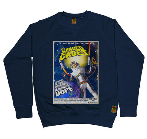 B-Movie 'The Spaced Cadet' Navy Sweatshirt