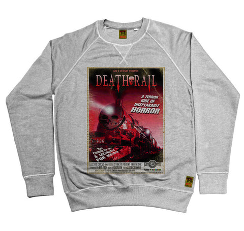B-Movie 'Death Rail' Heather Grey Sweatshirt