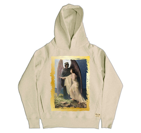 Ikons 'The Great Awakening' Vintage White Hooded Sweatshirt