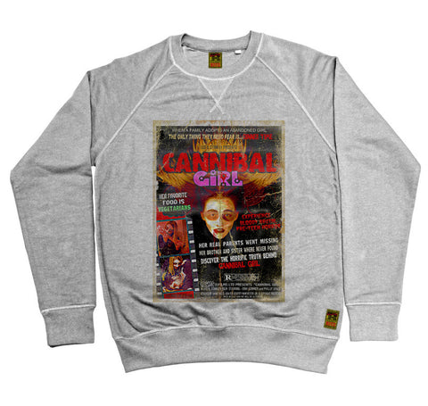 B-Movie 'Cannibal Girl' Heather Grey Sweatshirt