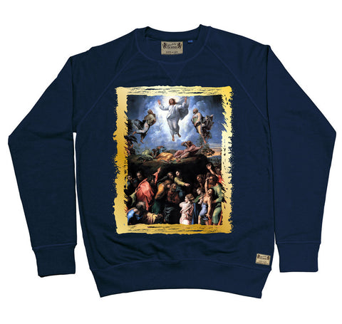 Ikons 'The Transfiguration' Navy Sweatshirt