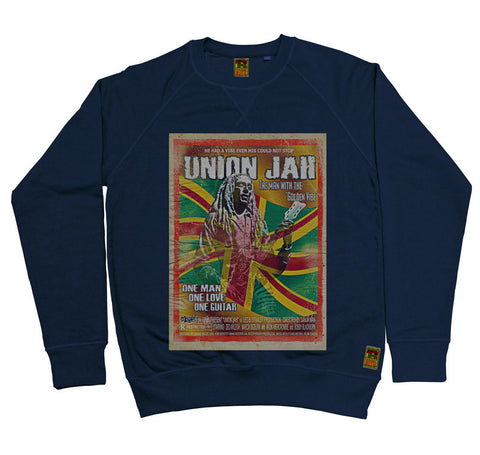 B-Movie 'Union Jah' Navy Sweatshirt