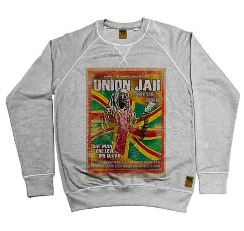 B-Movie 'Union Jah' Heather Grey Sweatshirt