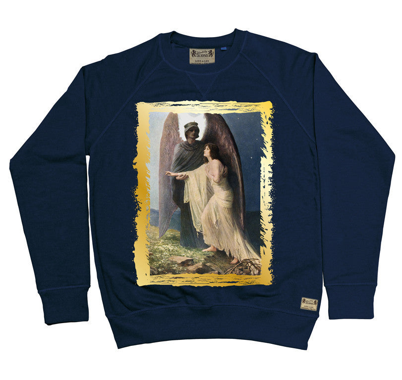 Ikons 'The Great Awakening' Navy Sweatshirt