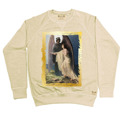 Ikons 'The Great Awakening' Vintage White Sweatshirt