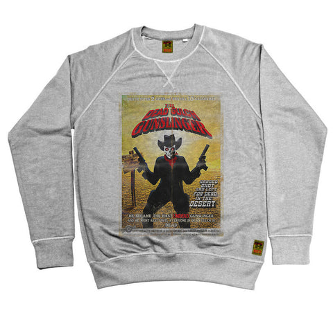 B-Movie 'The Dead Gulch Gunslinger' Heather Grey Sweatshirt