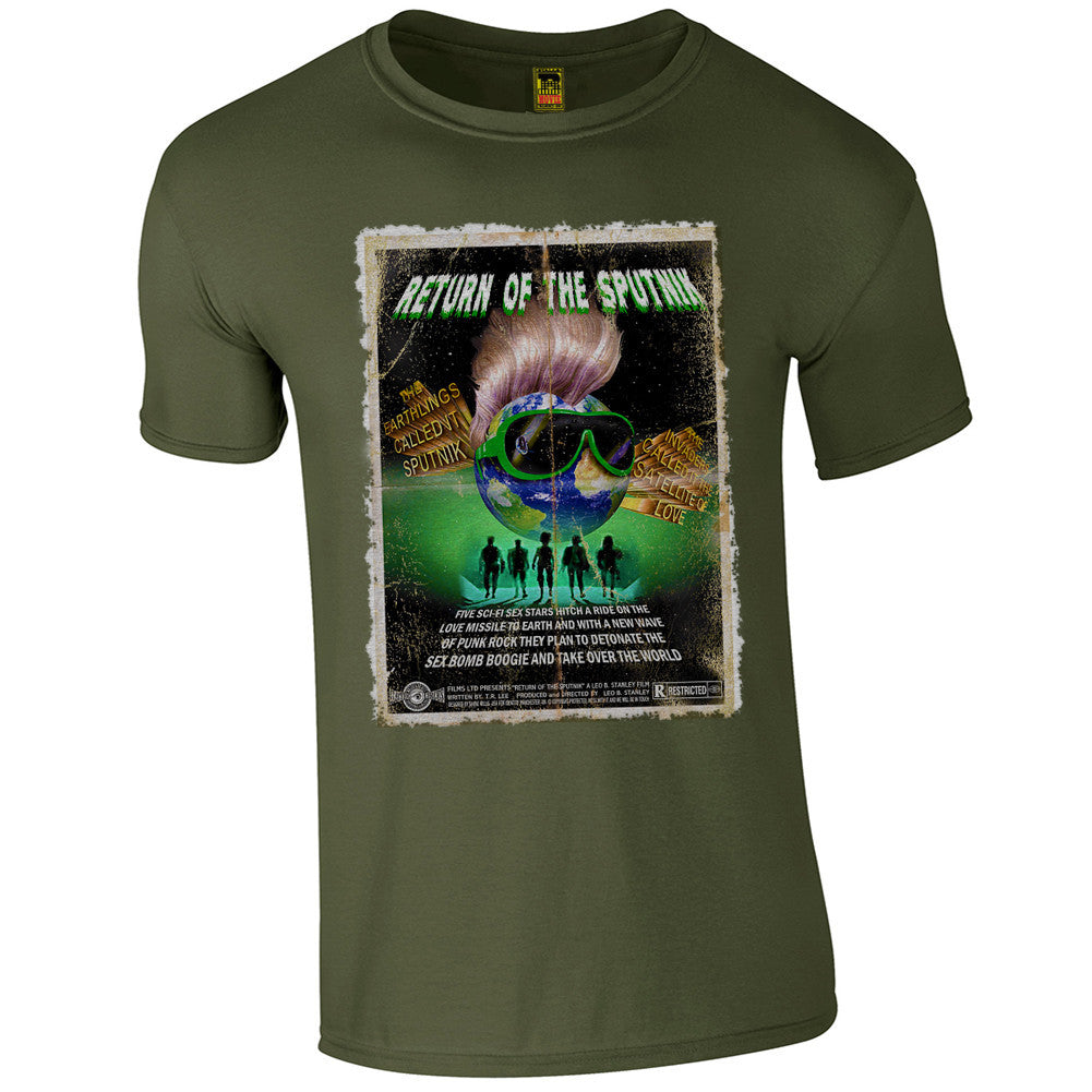 B-Movie 'Return Of The Sputnik' T-Shirt