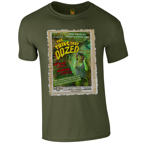 B-Movie 'The Thing That Oozed' T-Shirt